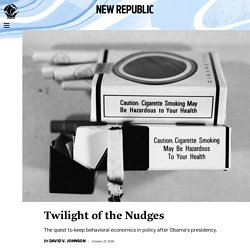 Twilight of the Nudges