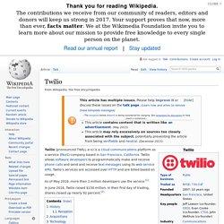 Twilio - Wikipedia