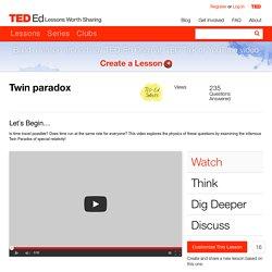 Twin paradox