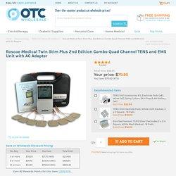 Twin Stim Plus Combo Quad Channel TENS and EMS Unit DS5002