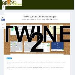 TWINE 2, écriture d'un livre jeu