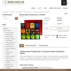Zestaw herbat Twinings 12x6 - 72 koperty Herbaciarnia24h.pl - herbaty, kawy, zioła i mate - Wrocław