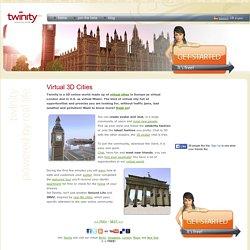 Virtual 3D cities