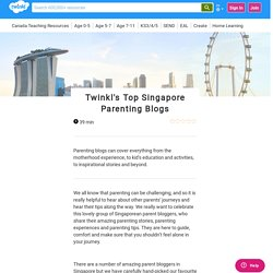 Top Singapore Parenting Blogs