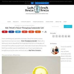 Ada Twist's Color Changing Lemonade Lab