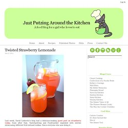 Twisted Strawberry Lemonade
