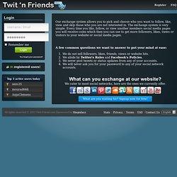 Twit 'n Friends