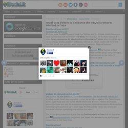 Israele usa Twitter per la guerra, ma toglie internet a Gaza - iSocial.it