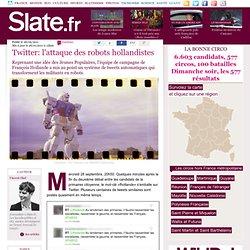 Twitter: l'attaque des robots hollandistes
