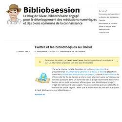 Twitter et les bibliothèques au Brésil