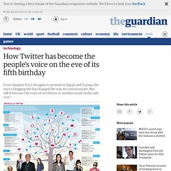 How Twitter has become the people's voice on the eve of its fifth birthday | Technology | The Observer
