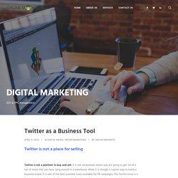 Twitter as a business Tool - Online Monkeys