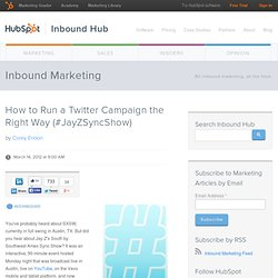 How to Run a Twitter Campaign the Right Way (#JayZSyncShow)