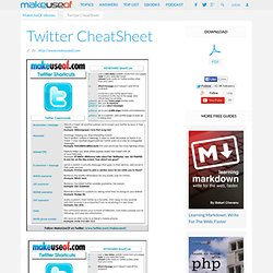 DOWNLOAD Twitter CheatSheet
