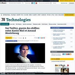 Sur Twitter, guerre des chiffres entre Xavier Niel et Arnaud Montebourg