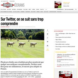 Ecrans.fr : Sur Twitter, on se suit sans trop comprendre