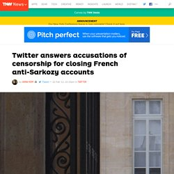 Twitter Enters French Controversy on Sarkozy Parodies