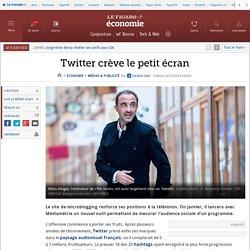 Twitter crève le petit écran