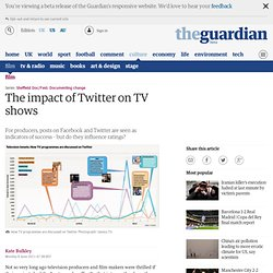 The impact of Twitter on TV shows | Film