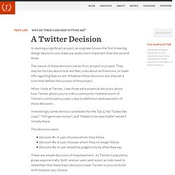 Rands In Repose A Twitter Decision