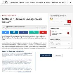 N*8 : Twitter va-t-il devenir une agence de presse?