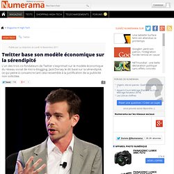 Twitter base son modèle économique sur la sérendipité