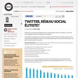 Twitter, réseau social élitiste? » Article » OWNI, Digital Journalism