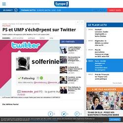 PS et UMP s'éch@rpent sur Twitter