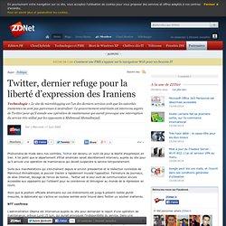 Twitter, dernier refuge pour la libert