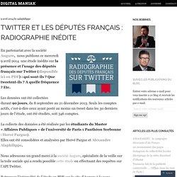 Twitter et les députés français : radiographie inédite
