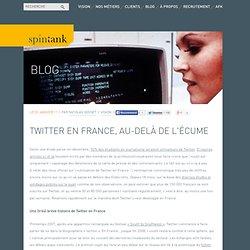 Twitter en France, au-delà de l'écume