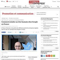 Twitter Alley - Le billet de François Kermoal : Comment contacter Google en France