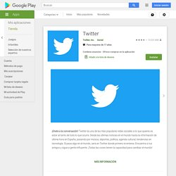 Twitter - Android-apps op Google Play