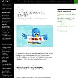 Twitter : le guide du Retweet