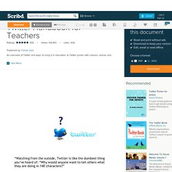 Twitter Handbook for Teachers