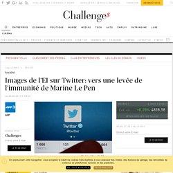 Images de l'EI sur Twitter: vers une levée de l'immunité de Marine Le Pen - Challenges.fr