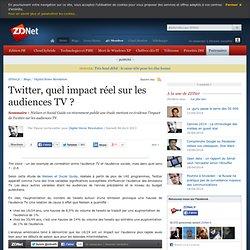 Twitter, quel impact réel sur les audiences TV ?