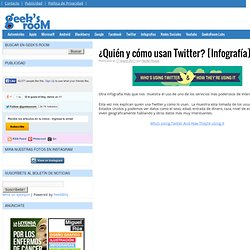 ¿Quién y cómo usan Twitter? [Infografía]