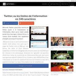 Twitter, ou les limites de l'information en 140 caractères