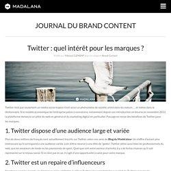 Twitter : quel intérêt pour les marques ?