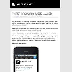 Twitter introduit les tweets allongés
