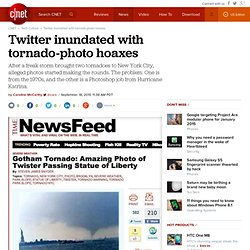 Twitter inundated with tornado-photo hoaxes | The Social