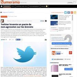 Twitter invente un pacte de non-agression sur les brevets