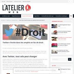 Twitter s'invite dans les amphis en fac de droit - L'Atelier Web