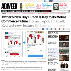 Twitter Launches Commerce-Enabled Posts