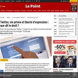 Twitter, vie privée et liberté d'expression : que dit le droit ?