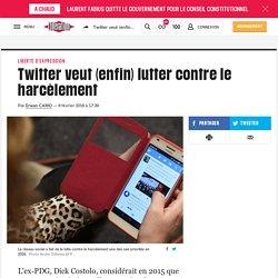 Twitter veut (enfin) lutter contre le harcèlement