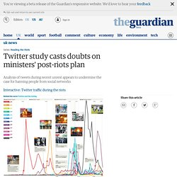 Twitter study casts doubts on ministers' post-riots plan