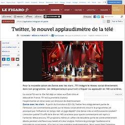 Médias & Publicité : Twitter, le nouvel applaudimètre de la télé