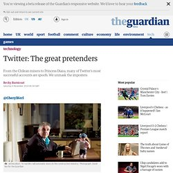 Twitter: The great pretenders